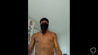 DaDick Working Out To Porn Scene #1