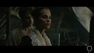 Alicia Vikander, Cara Delevingne and Holliday Grainger in sex scenes