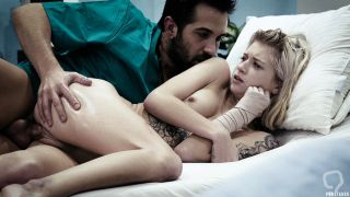 Shy teen patient bangs with a pervert doctor