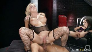 Busty Milf And Beautiful Teen Shows Their Hunger For Cock