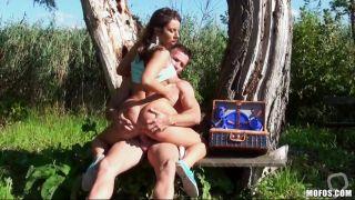 Pretty Woman Goes Wild In A Jungle