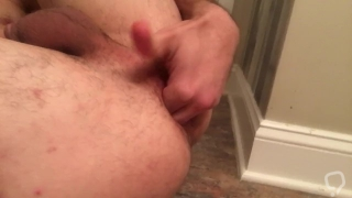 Massive Dildo Male Masturbation