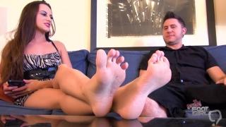 Ashlynn Taylor Foot Worship footjob Brattyfootgirls.com