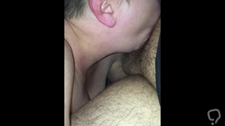 Little cock gets sucked