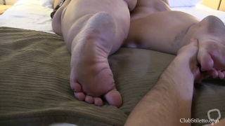 Eat my BBW feet - So dirty and stinky