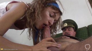 Young Girl Sucking An Old Cock