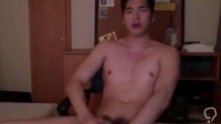 Handsome Asian Boy man big cock dick penis