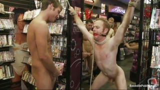 Pretty Boy Humiliated In A Store