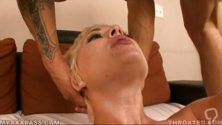 Mature Blonde Getting Mouthfucked