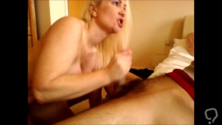 15 Facials one after another huge cumshots totally ruined cum loving milf