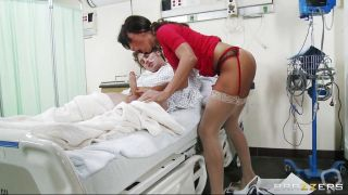 Mature Sexy Doctor Cures Her Patient With An Erotic Blowjob