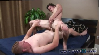 Straight boy cumming gay Bobbing up and down on the stiff dick, Bobby