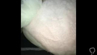 Bitch Bunny rides Jake