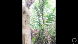 Pinoy One with Nature Jerk Off