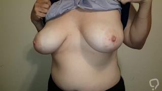 Slow Boob Drop and Titty Play