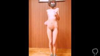 Young Girl Nude Dancing