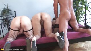 Three Old Asses Are Ready For Fucking