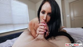 Free Porn Videos | Husband was out of town but MILF stepmom needed a cock