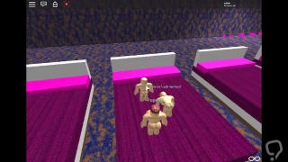 Furry bitches and lesbians fuck with boys in roblox