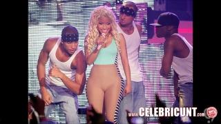 Nude Celeb Nicki Minaj Exposed Huge Tits And Cumshot Selfie