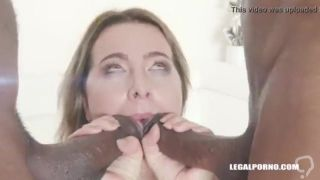 White girl punished and used by black masters