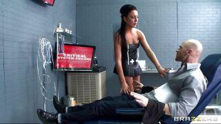 Sexy Doctor Sucks Her Patient