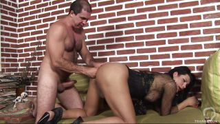 Naughty Tranny Getting Fisted And Fucked From Behind