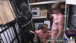 Straight people caught being gay Dungeon tormentor with a gimp