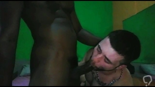 Asshole fucked and drilled by black cock
