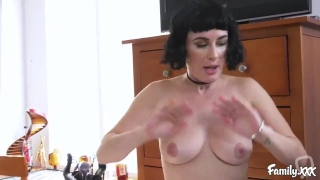 Stepsisters Olive Glass and Chloe Scott Break All The Rules and Orgasm Hard