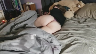 My Girlfriend Shows Off Her Amazing Ass and Feet