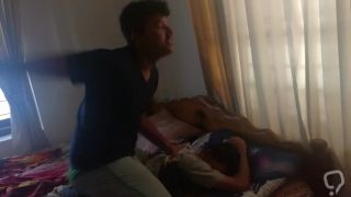 Horny hostel boy forcing sex on innocent lad