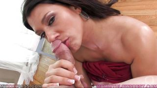 Horny Milf Sucks Cock And Eats Sperm