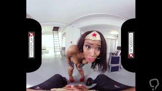 Nubia XXX Cosplay VR XXX - Experience Nubian Wonder Woman!