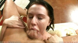 Kelly Klass Gets Her Throat Filled With Cock