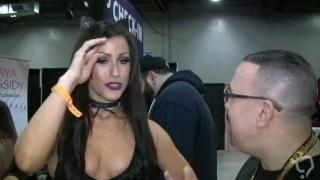 Jennifer White Interview at Exxxotica NJ 2017 (SPIC'N SPANISH RELOADED TV)