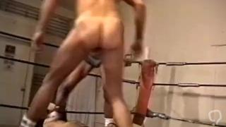 Ted Matthews Legend of Porn in Bodybuilder Bondage Wrestling 3