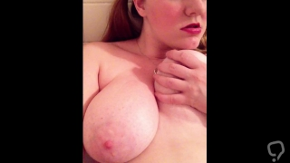 Chubby fuck toy showing off her body