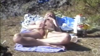 Norwegian daddy on a beach (recorded about 1990)