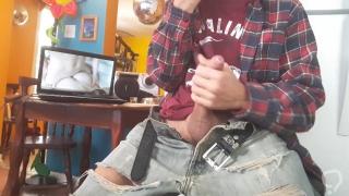 Masturbate while watching porn #9