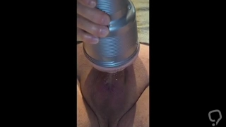 Jerking My Cock With Fleshlight Watching Lily Thai
