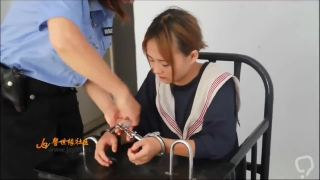 Cute Chinese arrest for drug