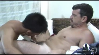 Daddy Barebacks Asian Boy Stephen