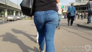 Random Girl Hot Ass In Public
