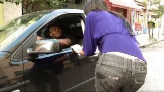Bald Black Man Hires A Shemale Hooker