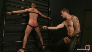 Gay Fucking A Guy's Ass After Whipping It Hard