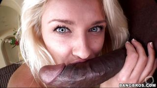 Blonde Has Her Mouth And Pussy Stuffed By A Cock