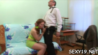 Adorable russian gf gets penetrated