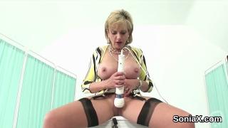Adulterous british milf gill ellis presents her enormous titties