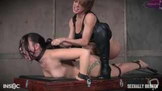 PMV Big Ass Girl Dominated by Couple - Bondage Lesbian Wife Domination